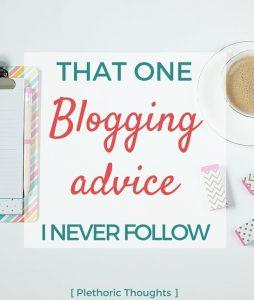 Nicheless Blogging