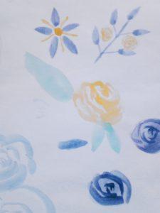 better watercolor rose