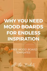 Why You Need Mood Boards for Endless Inspiration | Here are three reasons why you may want a mood board and how to create them. Bonus: free templates for making digital mood boards using Photoshop