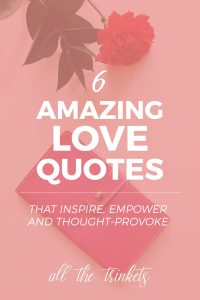 It's the first day of February, the month of love. And I love quotes of all kinds. Of course I will be sharing some of my favorite love quotes of all time! :D