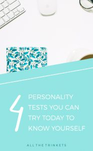 4 Personality Tests You Can Try Today   Know yourself, self-improvement, personal growth
