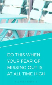 Fear of Missing Out | Perfectionist | FOMO | Self-improvement | Personal Growth