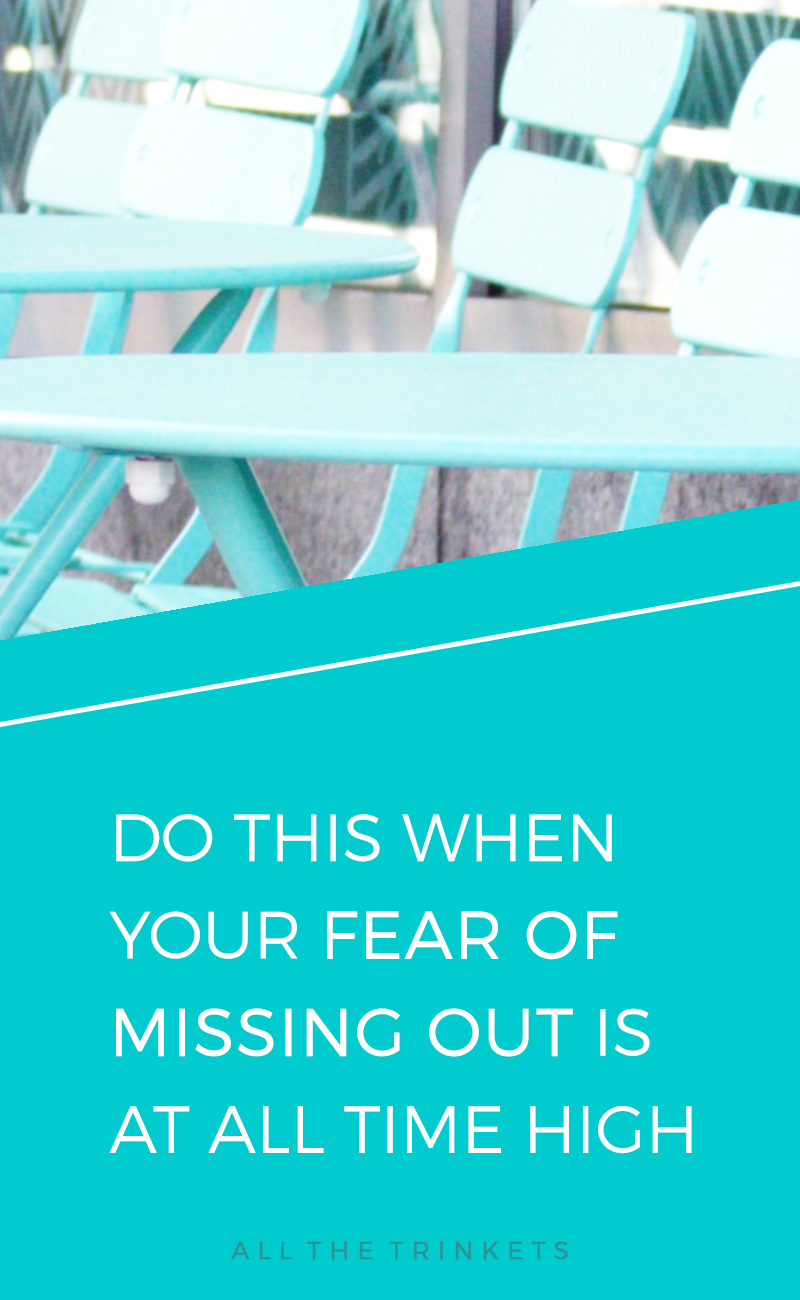 Fear of Missing Out | Perfectionist | FOMO | Self-improvement | Personal Growth | Lifestyle