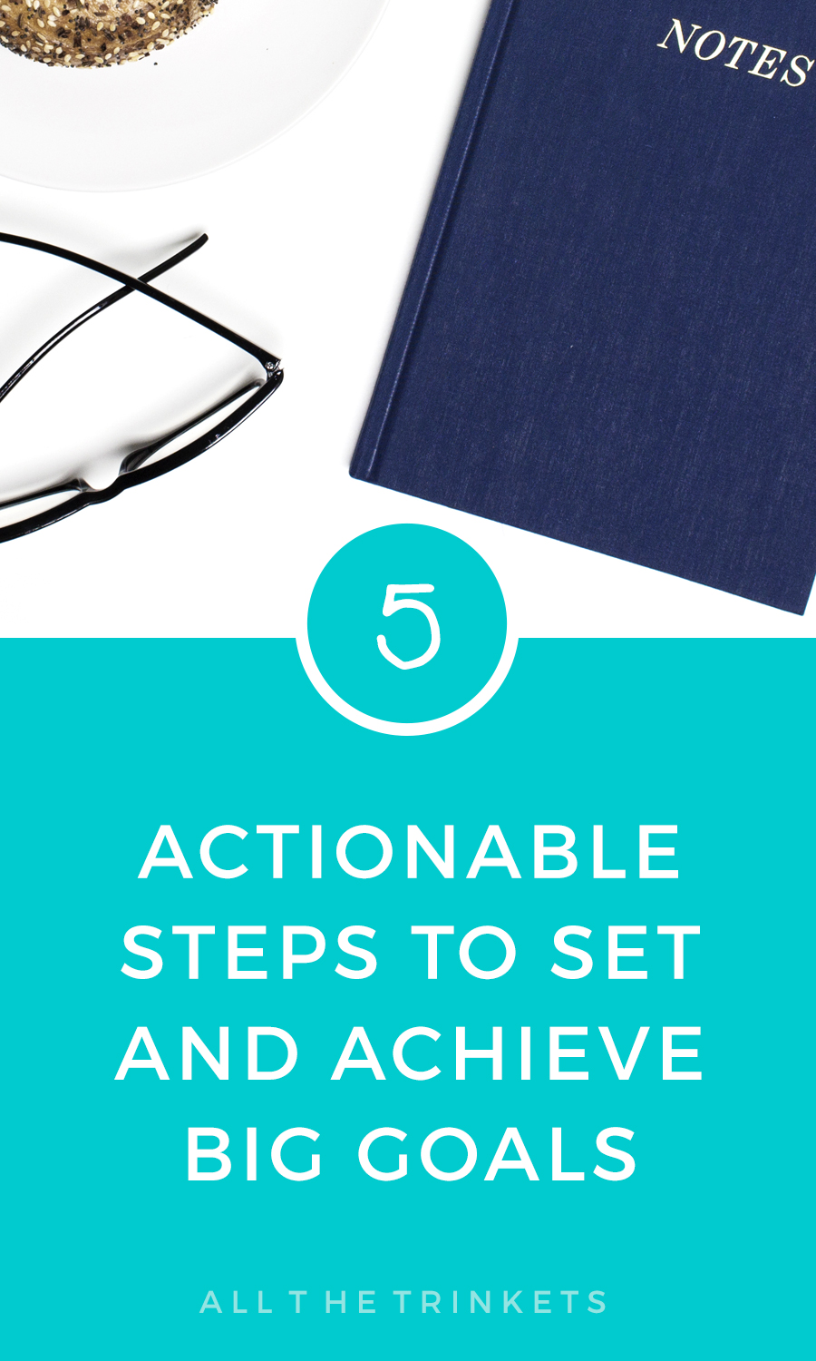 We all love to set big goals for ourselves. The problem lies in achieving them. Here are 5 actionable steps to set and achieve the big goals. #goalplanning #goals