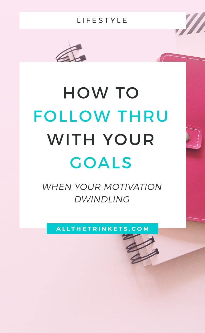 Setting a goal can be the easiest thing ever. But following through it and achieving it? It's close to rocket science. Here are 5 ways you can follow through with your goals.