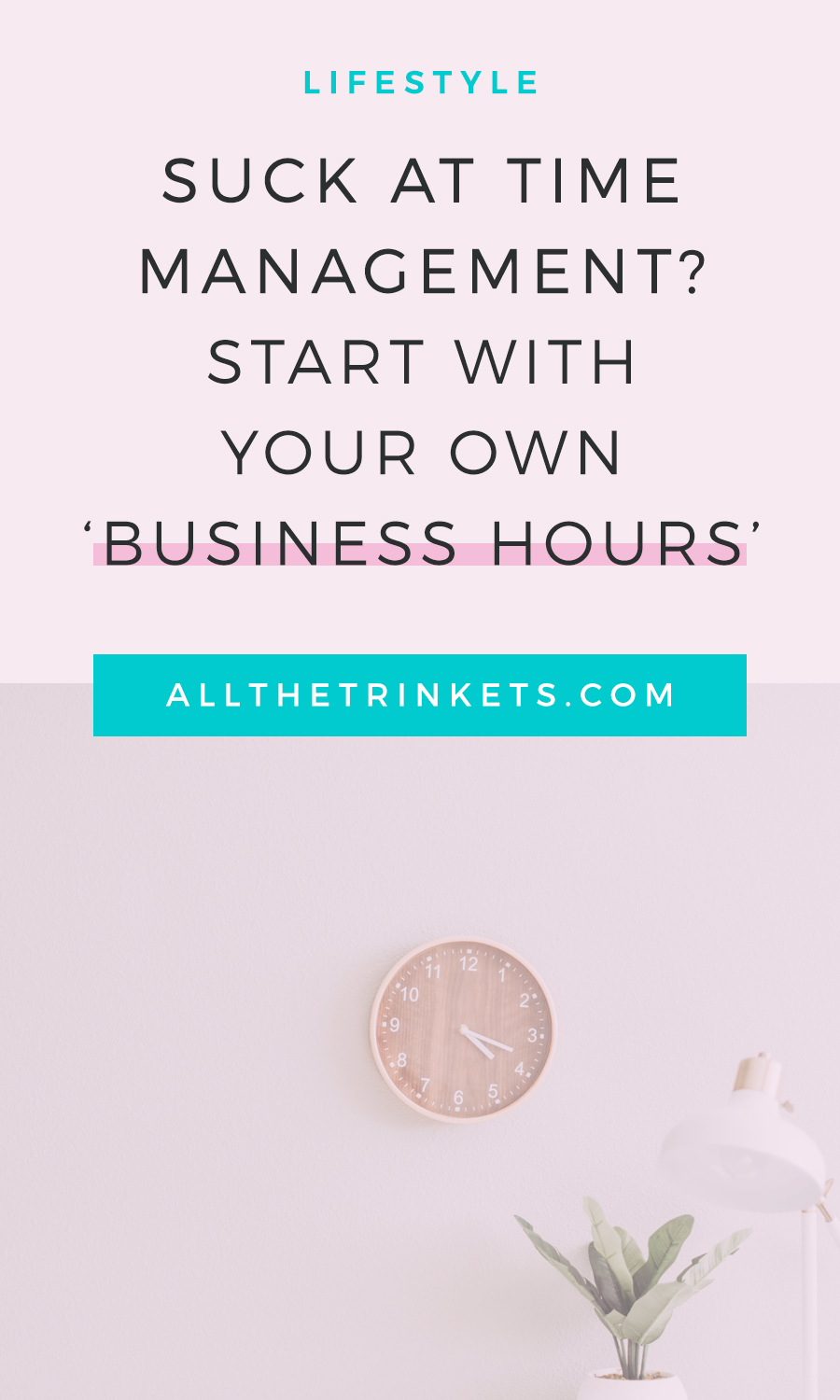 Suck at time management? I feel you. If you have a hard time managing your time, maybe you can start with creating your very own business hours instead. Click on to read why you need one.